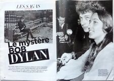 *Le mystère BOB DYLAN => 4 PAGES 2017 french clipping !!!