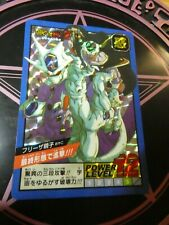 DRAGON BALL Z BEST SELECTION CARDDASS CARD 30TH PRISM CARTE 155 JAPAN MINT NEUF