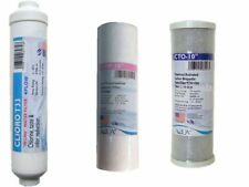 Replacement Inline Filter Set For (RO) Reverse Osmosis Units / Water Filters