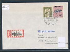 11226) especial R-nota LV-exposición bielefeld 72, Owl, francos belgas SST de Prusia 12.5.