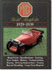 MG Gold Portfolio 1929-39 by Brooklands Books Ltd | PB, 1993 | B/New