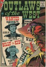 Charleton Comics Outlaws Of The West Vol 1 # 11 (1957) Western VG+