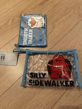 Disney Store Little Mermaid Sebastian Scuttle Washbag Toiletry Make Up Bag NWT