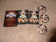 WRESTLEMANIA XXIV 24 wwe EXCLUSIVE TIN dvd wrestling COLLECTOR'S EDITION