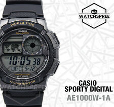 Casio Standard Digital Sporty Design Watch AE1000W-1A
