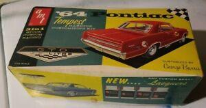 1964 Pontiac GTO 1:25 Scale Original 1st issue Model Kit