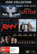 Robert De Niro Collection Cape Fear Midnight Run Sleepers DVD Region 4