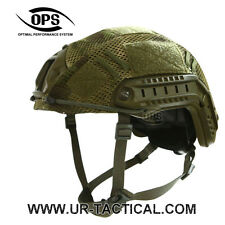 OPS/UR-TACTICAL COMBAT COVER FOR OPSCORE FAST HELMET IN A-TACS FG - M/L