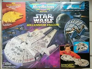 Galoob Micro Machines Star Wars Millennium Falcon Playset  #65878, 1995