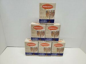 6-Manischewitz Chanukah Candles Wax 264 candles Assorted, Camping, Emergency