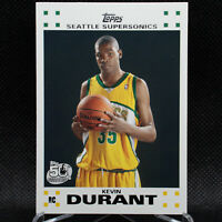 KEVIN DURANT 2007-08 TOPPS ROOKIE SUPERSONICS #2 KD2 WHITE 📈