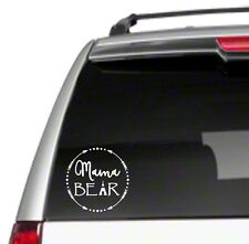 Mama Bear Arrow Car Vinyl Sticker Decal family kids proud mom cubs momma *D25*
