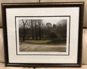 """Harold Altman Lithograph """"November 2 1983"""" Artist Proof Signed & Numbered Framed"""