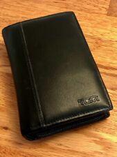 TUMI Leder Tasche Hülle für z.B. Nintendo DS lite Palm PDA +TOP+
