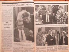 Feb 23, 1997 N Y Times TV Mag(DREW CAREY/KATHY KINNEY/RYAN STILES/CHRISTA MILLER