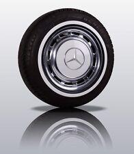 """Weißwandringe 15"""" schwarz-weiß zugelassen Weißwandreifen Mercedes 15 Zoll"""