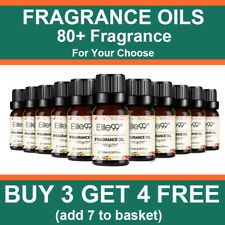 Elite99 100% Pure Natural Fragrance Oils 10Ml For Bathbomb Candle Soap Making