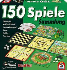 Spielesammlung 150 Spiele Spielmöglichkeiten Brettspiel Familienspiel Mühle Dame