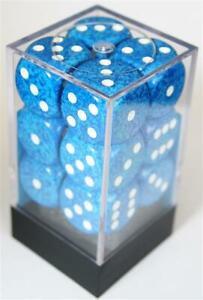 Chessex Speckled Water W6 16mm Würfel Set CHX25706