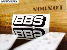 BBS Aufkleber Sticker Felgenaufkleber Rennsport Motorsport schwarz
