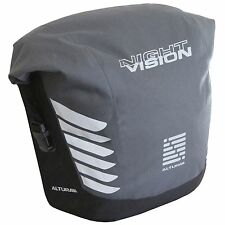 Altura Night Vision 20 Litre Bike/Cycle/Cycling Cargo Pannier Bag - Grey