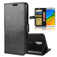 Full Cover Stand  Case PU Leather Wallet Flip Magnetic Clasps Card Pocket Slots