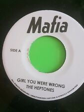 MAFIA RECORDS GIRL YOU WERE WRONG THE HEPTONES  / AFRICAN BREAD LITTLE CLIVE