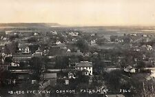 Real Photo Postcard of a Birds Eye View of Cannon Falls, Minnesota~113293