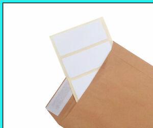 White stickers Self Adhesive Address Printer Labels 89x36mm 160 pcs