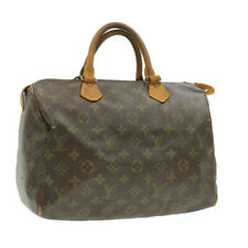LOUIS VUITTON Monogram Speedy 30 Hand Bag M41526 LV Auth 16677