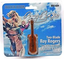 Rough Rider Roy Rogers Guitar Knife