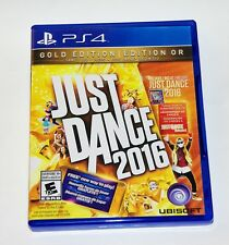 Replacement Case (NO GAME) Just Dance 2016 Gold Edition Playstation 4 PS4 Box