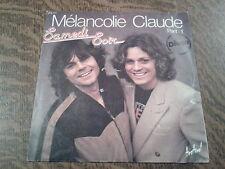 45 tours samedi soir melancolie claude part 1 & 2
