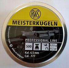 Diabolo RWS Meisterkugel, 5 000 Stück in 10 Runddosen