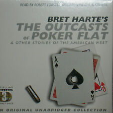 The Outcasts of Poker Flat by Bret Harte 3 CDS AUDIO STORIES WEST NEW! FREE SHIP