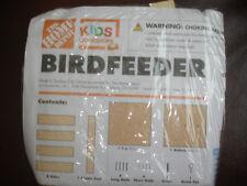 HOME DEPOT KIDS WORKSHOP BIRD FEEDER KIT LOWES BUILD & GROW WOOD PROJECT WOODEN