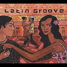 "LATIN GROOVE ""VARIOUS ARTISTS"" PUTUMAYO WORLD MUSIC STEREO DIGIPAK CD AS NEW"