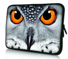 """Owl 17"""" 17.3"""" 17.4"""" Laptop Notebook Computer PC Sleeve Case Bag Cover C0"""