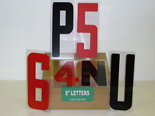 """8"""" Inch Flexible Outdoor Portable Marquee Sign Letters 8"""" on 8 7/8"""" 176 Count"""