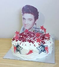 ELVIS PRESLEY Premium edible 3D cake scene decoration set stand up toppers