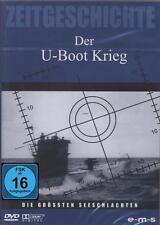 DVD DER U-BOOT KRIEG 156min 3 Dokumentationen - 2ter Weltkrieg U-Boote ** NEU **