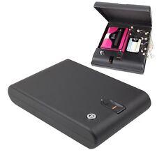 Mini Digital Gun Home Office Biometric Fingerprint Lock 120 Fingerprint Safe Box
