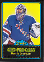 16-17 OPC Henrik Lundqvist GLO-PEE-CHEE NY Rangers OPEECHEE 2016