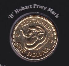 2011 $1 Ram's Head sheep wool $1 ex Set H Mint Mark Hobart Coin