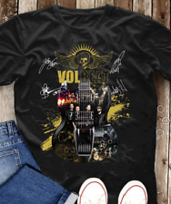 Volbeat Band Guitar Signatures T-Shirt Michael Poulsen Heavy Metal Great Band