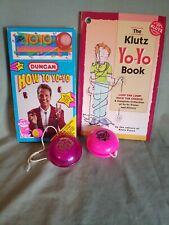 Duncan Imperial & Neo yoyo`s + How to tape & The Klutz yo-yo book●