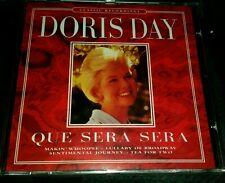 Doris Day - Que Sera Sera CD (1997) BRAND NEW.