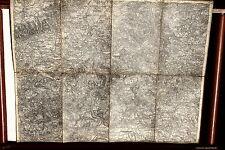 23499 cartina di Lechner Karlovy Vary e Lubitz Boemia 1882