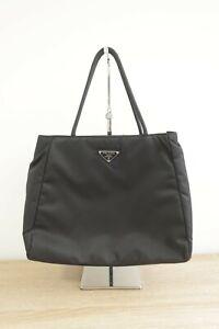 Authentic PRADA Nylon hand Tote bag #10227