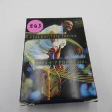 21St Century Tennis 2000 Atp Player Cards Lot 263